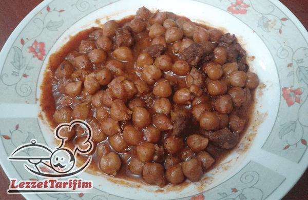 Nohut Yahnisi Tarifi