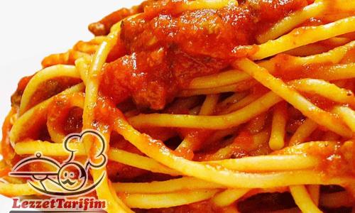 Salçalı Spagetti Tarifi