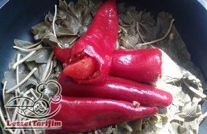 Kırmızı Biber Dolması Tarifi